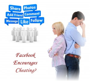 does facebook lead to cheating