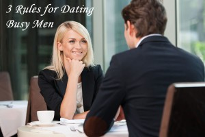 dating busy men