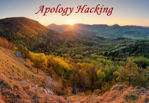 Apology Hacking