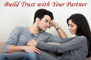 building trust with your partner