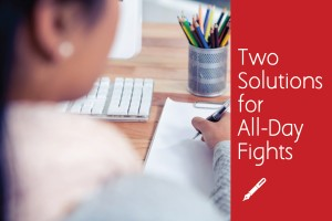 Two Solutions for All-Day Fights