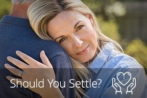 how to know if you are settling for less